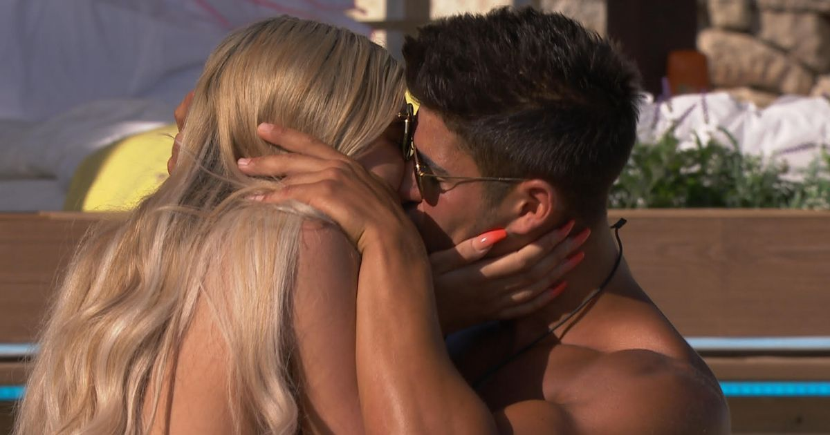 Love Island's Anton caught snogging new girl Belle Hassan after getting pied