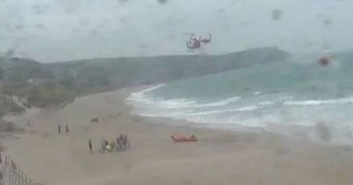 Man dies after being pulled from sea and girl, 17, has heart attack in heatwave