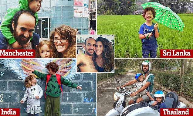 Parents with no savings reveal how shock death inspired them to travel