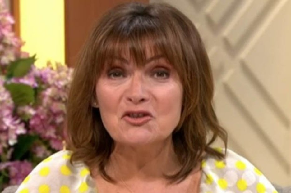 Lorraine Kelly distracts viewers in dramatically plunging dress