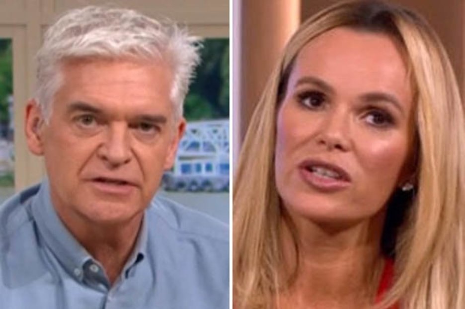 Phillip Schofield 'nervy' on This Morning as he speaks out amid Amanda Holden 'feud'
