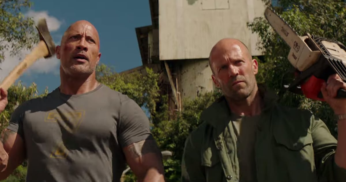 Dwayne Johnson and Jason Statham Battle Idris Elba in the Final Trailer For Hobbs and Shaw