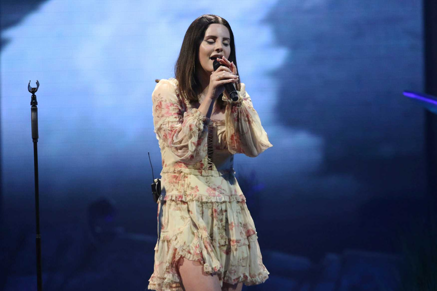 Watch Lana Del Rey's Live Debut of Sublime Cover 'Doin' Time'