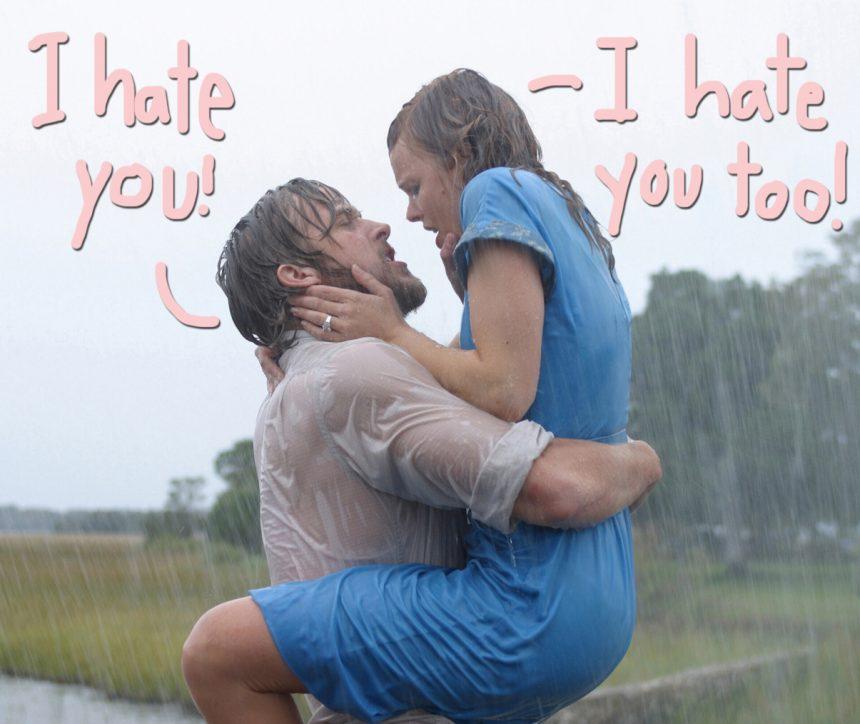 'The Notebook' Shocker — Ryan Gosling REFUSED To Film With Rachel McAdams!