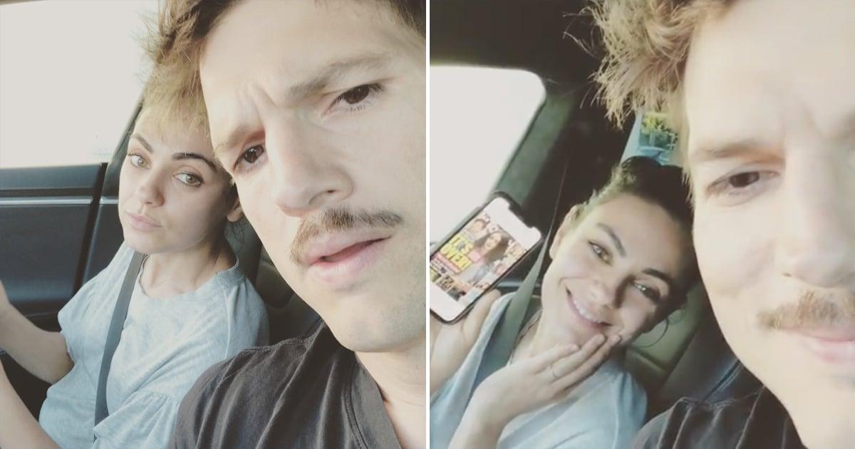 Mila Kunis and Ashton Kutcher Poke Fun at Split Rumors in the Most Mila and Ashton Way