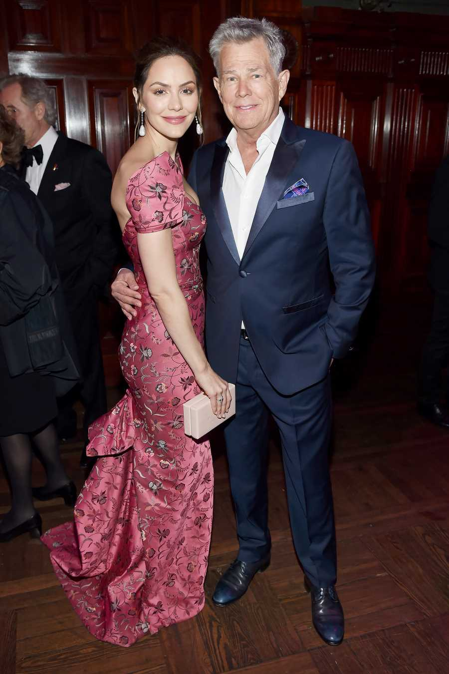 Katharine McPhee Shares Sweet Throwback Video with David Foster Hours Before London Wedding