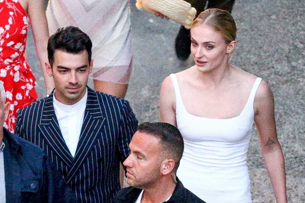 Sophie Turner debuts first wedding dress before marrying Joe Jonas