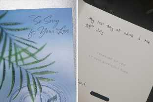 Turns Out That People Quitting Their Jobs With Condolence Cards Is Really A Thing And It's Hilarious