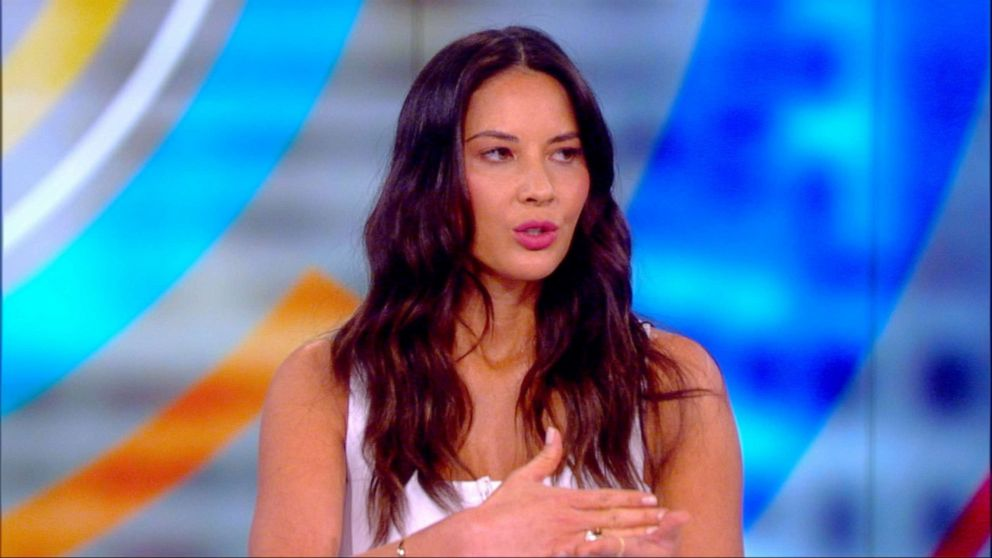Olivia Munn says she believes sexual assault victims, but thinks proof is 'important'