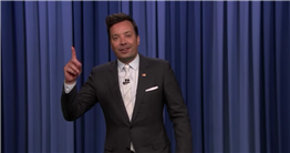 Jimmy Fallon Thinks the Democratic Debate Was a Bit Overcrowded