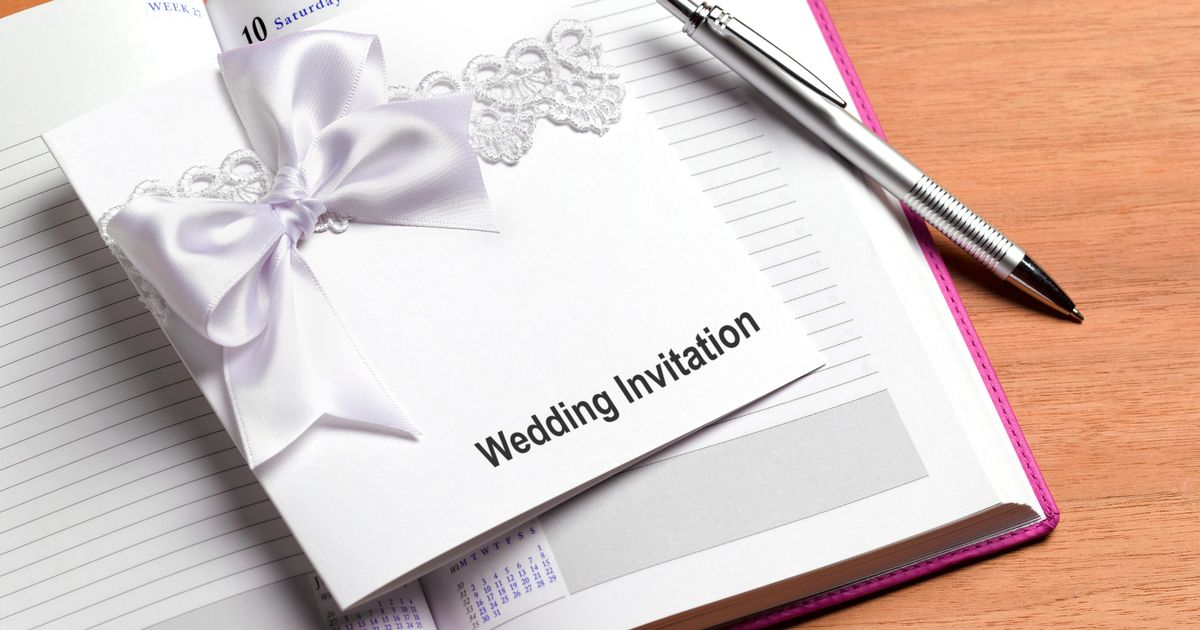 Bride's two page rambling wedding invite baffles guests – but it's quite sweet