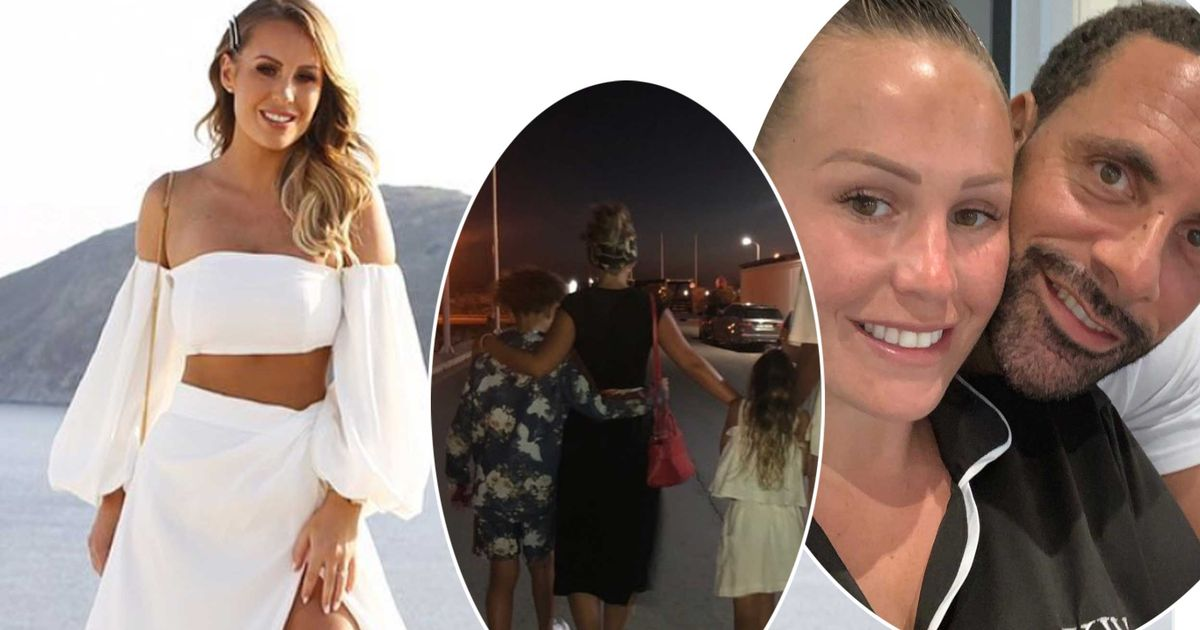 Kate Wright opens up on becoming a mother-figure to Rio Ferdinand's children as she teases upcoming wedding