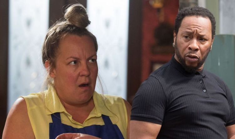 EastEnders spoilers: Karen Taylor in turmoilas dilemma pushes her away from Mitch?