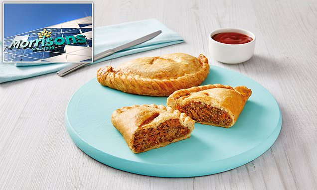 Vegan Cornish pasties arrive in UK supermarkets
