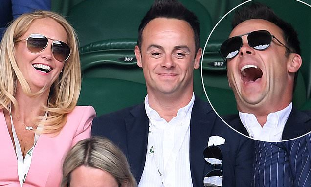 Wimbledon 2019: Ant McPartlin and Anne-Marie Corbett date