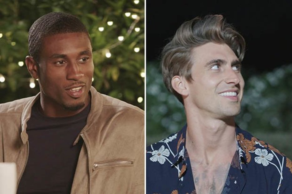Love Island's Ovie and Chris set for romance as they date two new bombshells