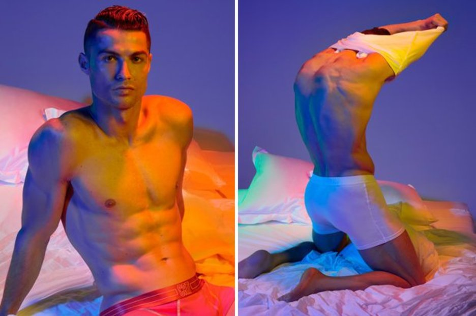 Cristiano Ronaldo accused of 'looking like a porn star' in bulge-tastic underwear snap