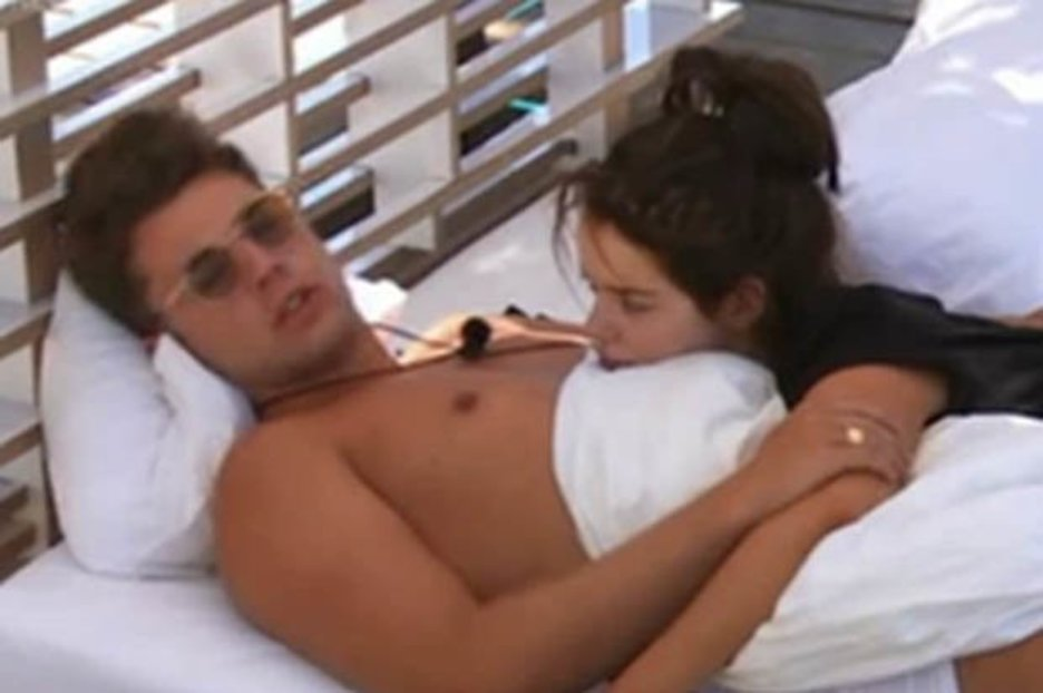 Love Island's Maura and Curtis 'have sex on sofa' as fans brand them fake