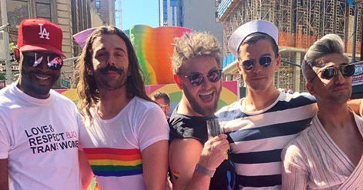 No One — and We Mean No One — Has More Fun Off Screen Than Queer Eye's Fab Five