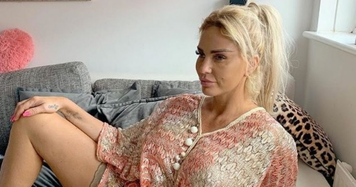 Katie Price in sickness drama quitting early morning screening