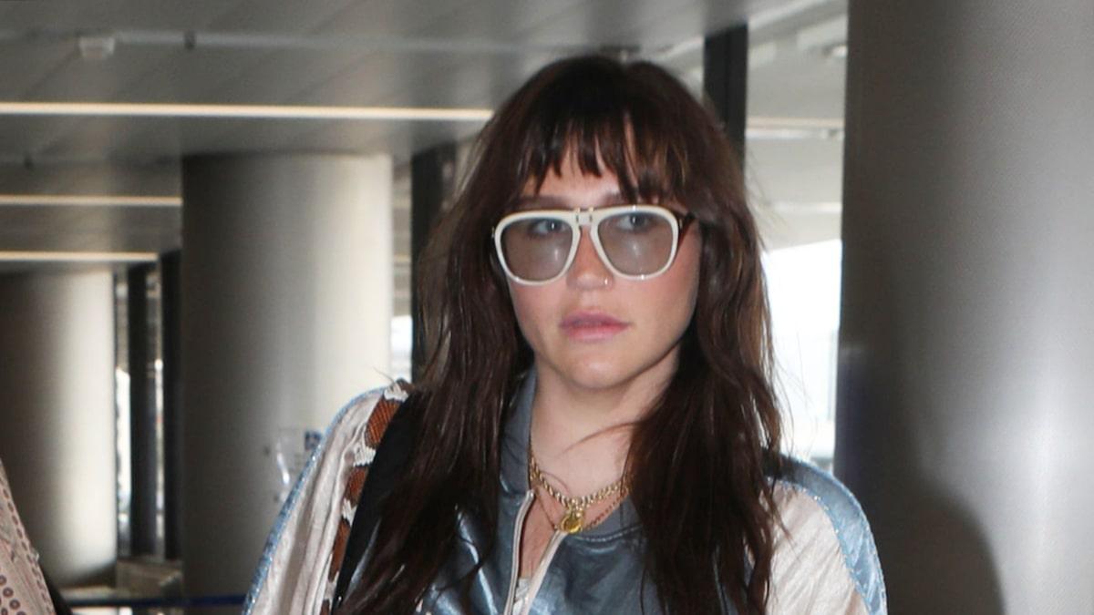 Kesha's Now a Brunette