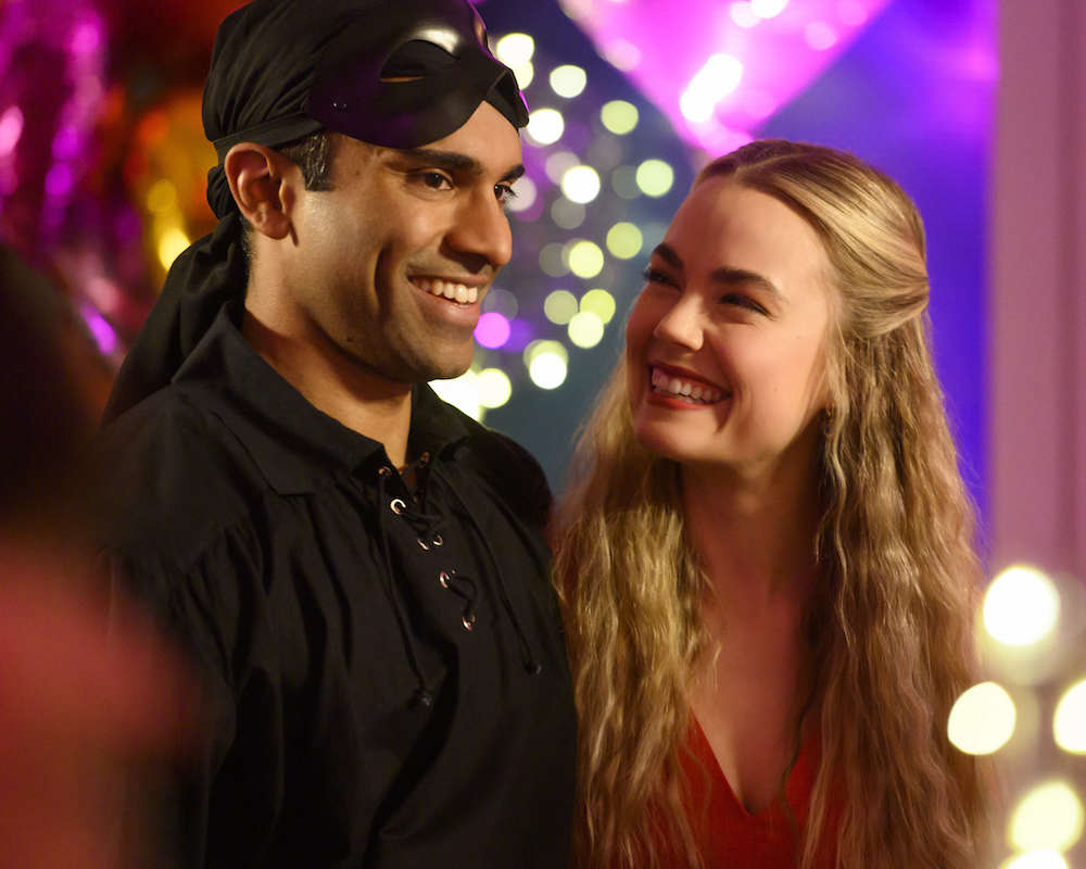 Nikesh Patel and Rebecca Rittenhouse Represent the Brits in 'Four Weddings and a Funeral'