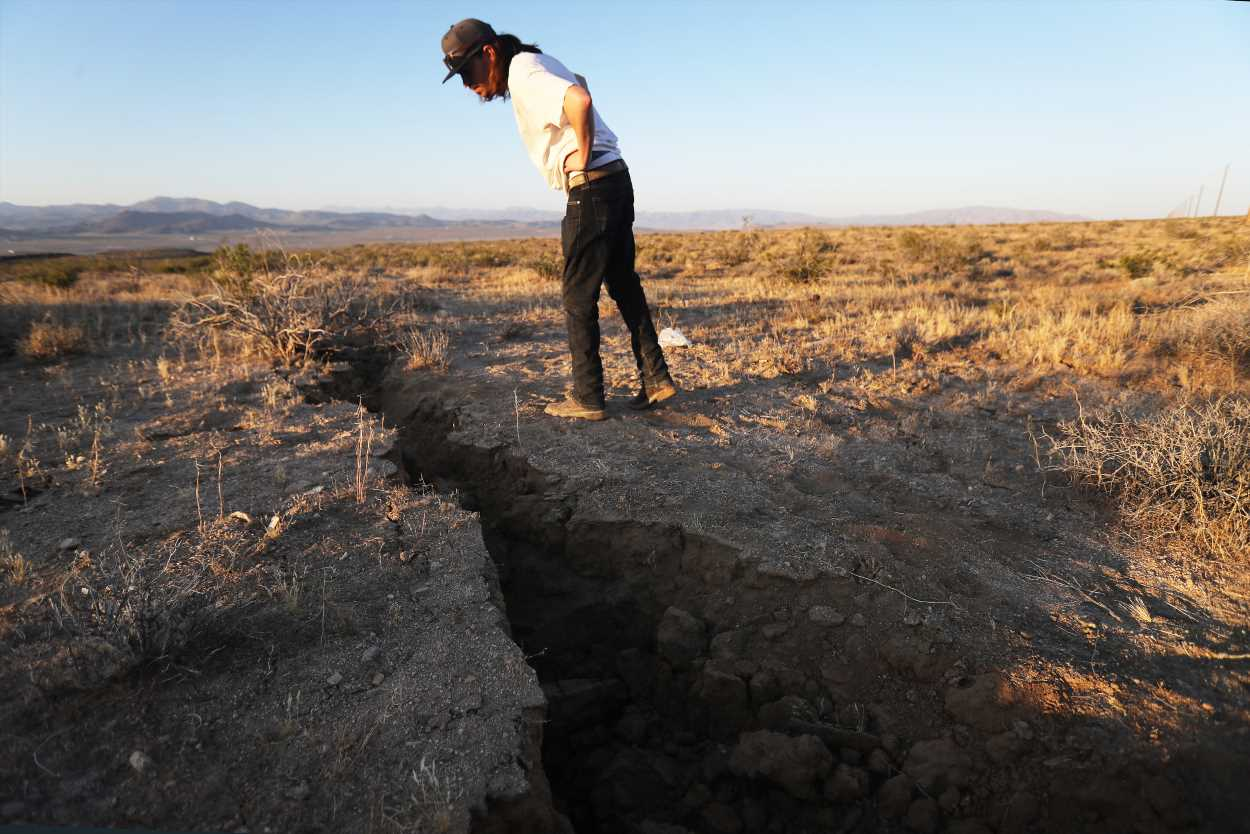 Earthquake may be to blame for death of man found pinned under car in Nevada