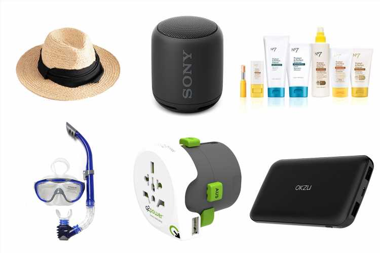What to take on holiday: From beach hats and sunscreen to snorkels and sunglasses, every essential to pack for vacation
