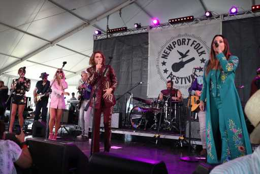 Watch the Highwomen Play Their First Full Concert at Newport Folk Festival