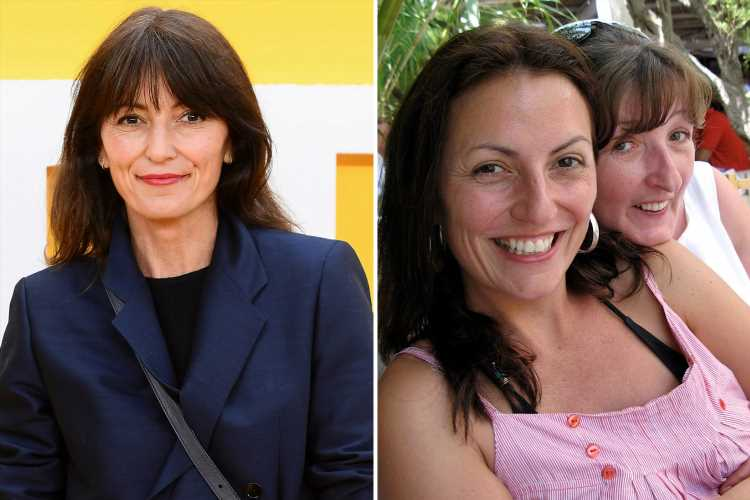 Davina McCall reveals she talks to her dead sister all the time – seven years after she lost her battle to cancer