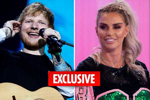 Ed Sheeran denies he's working with Katie Price after she claimed they collaborated on a song – The Sun