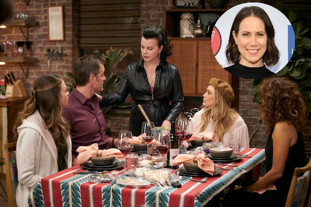 'Younger' Star Miriam Shor on Directing That Dinner Party Scene and Its 'Intimate' Garlicky Secret