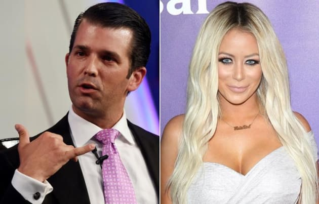 Aubrey O'Day to Donald Trump Jr.: DUMP Kimberly Guilfoyle & Get Back With ME!