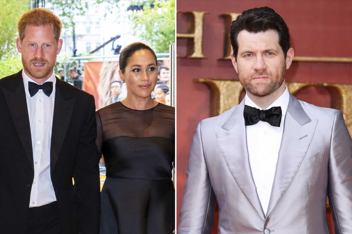 Billy Eichner Shares Video of Himself 'Completely Freaking Out' Before Meeting Meghan and Harry