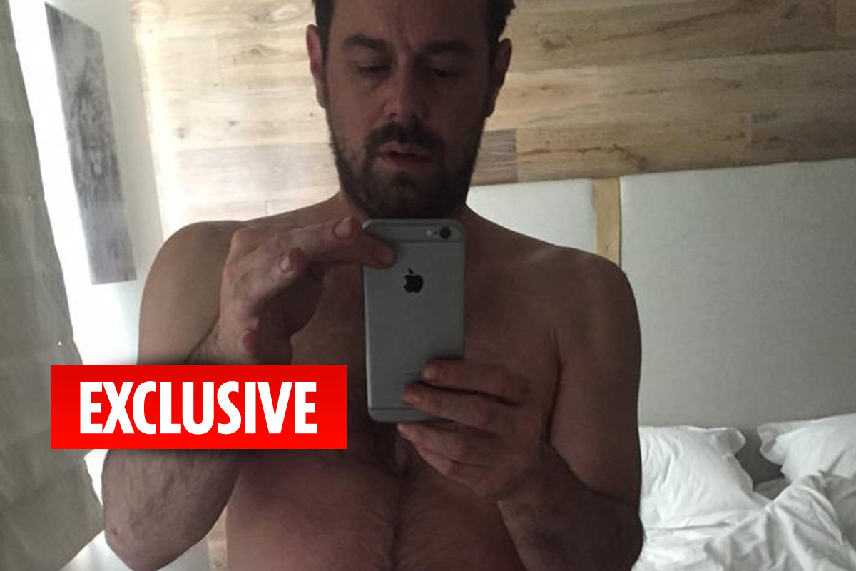EastEnders star Danny Dyer sent mystery blonde a selfie in his boxers and begged her to send 'some filth' – The Sun