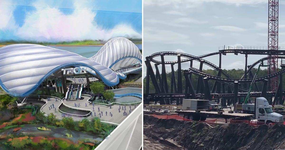 Walt Disney World Is Making Progress on Its Tron Roller Coaster, and It Looks Massive