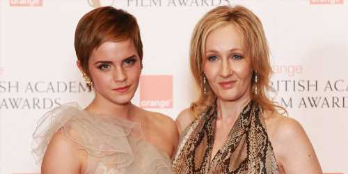 Emma Watson Reunites With Evanna Lynch & JK Rowling For Costume Birthday Bash – See The Pic!