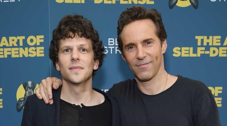 Jesse Eisenberg & Alessandro Nivola Attend 'The Art of Self-Defense' Screening in NYC