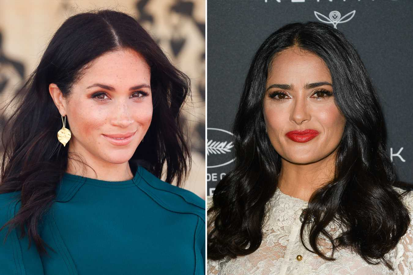 Salma Hayek on Her Secret Phone Call with Meghan Markle and Why She Couldn't Even Tell Her Husband
