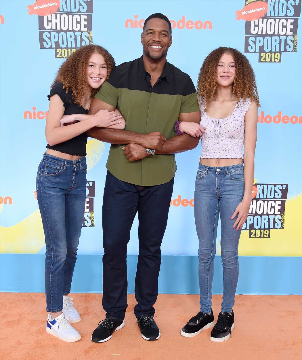 Here were all of the cutest family snaps from the 2019 Kids' Choice Sports Awards