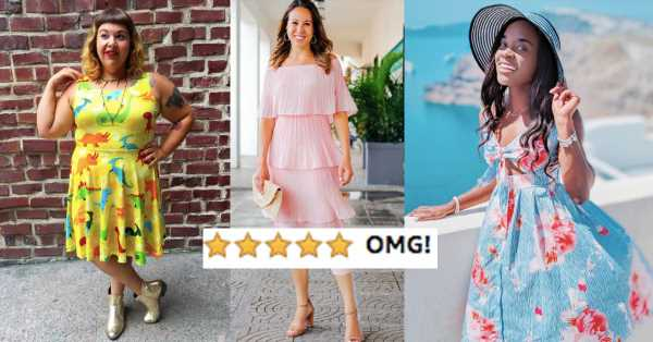 "31 Dresses Guaranteed To Make You Say ""OMG"""