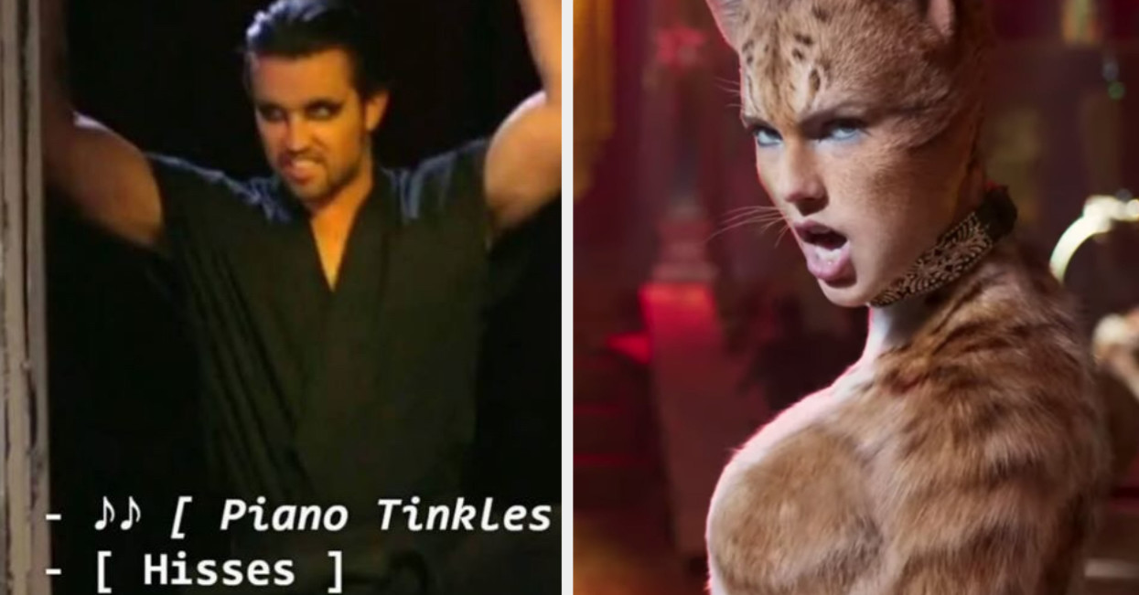 """Here Are The Funniest Tweets About The New """"Cats"""" Trailer"""