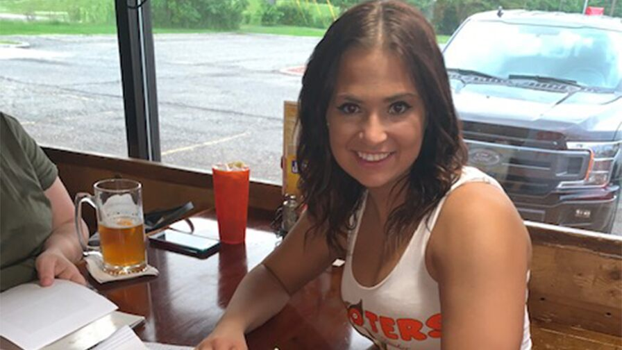 MMA fighter Larkyn Dasch slams claim that Hooters gig is a publicity stunt: 'I needed extra money'