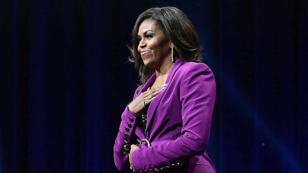 Michelle Obama named 2019's most admired woman in the world in new poll