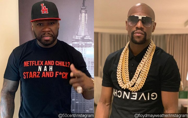 50 Cent Continues Trolling Floyd Mayweather, Jr. With Epic Video of the Athlete Owing Him Money