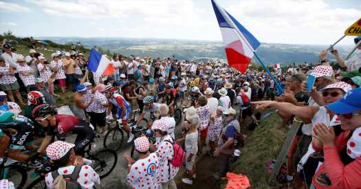 Back in Action, Thibaut Pinot Gives France Hope in Tour de France