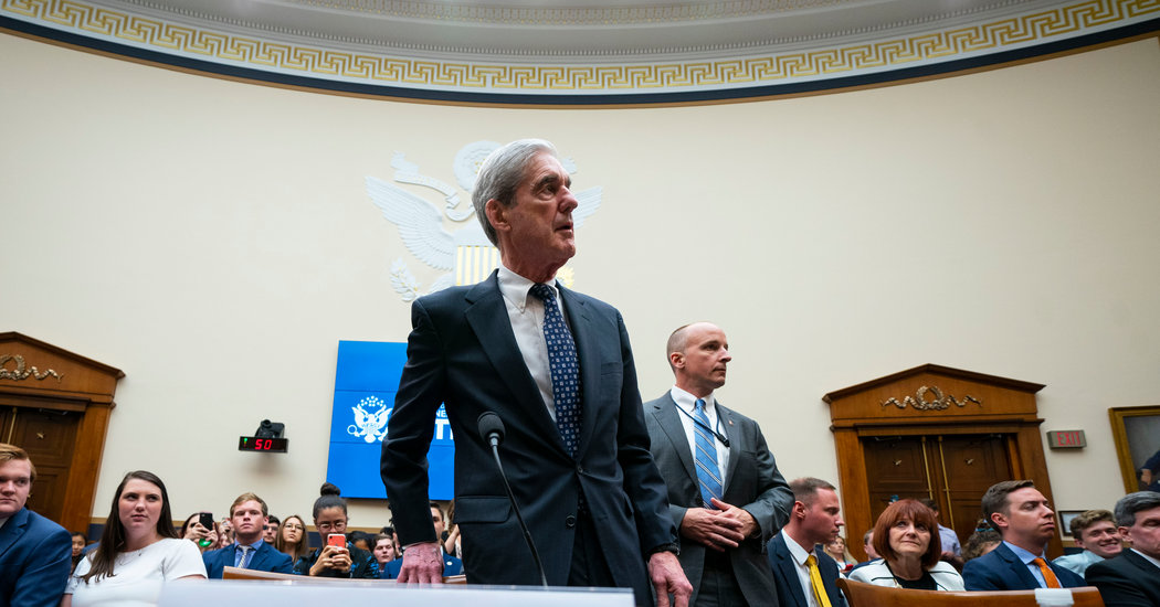 Asked to Put on a Show, Mueller Wishes You'd Read the Book