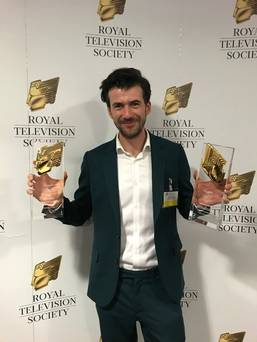 Irish language film wins big at prestigious Royal Television Society Awards in London