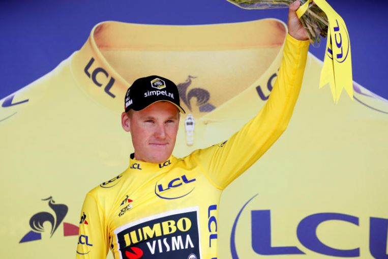 Cycling: Thomas and Ineos thrive as Jumbo-Visma win Tour team time trial for Teunissen to stay in lead