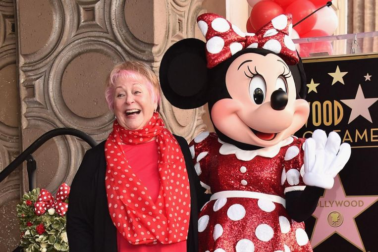 Voice of giggly Minnie Mouse dies at 75